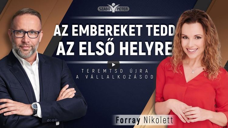 Szabó Péter beszélgetése Forray Nikivel