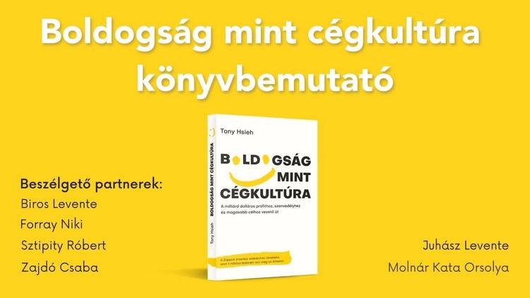 Boldogság mint cégkultúra könyvbemutató