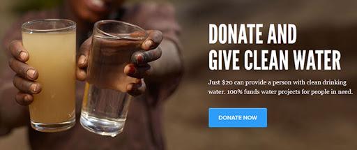 Adományozz a charity waternak