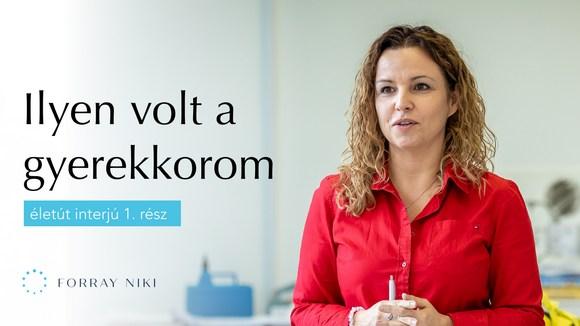 Forray Niki Életút videósorozat 1. rész
