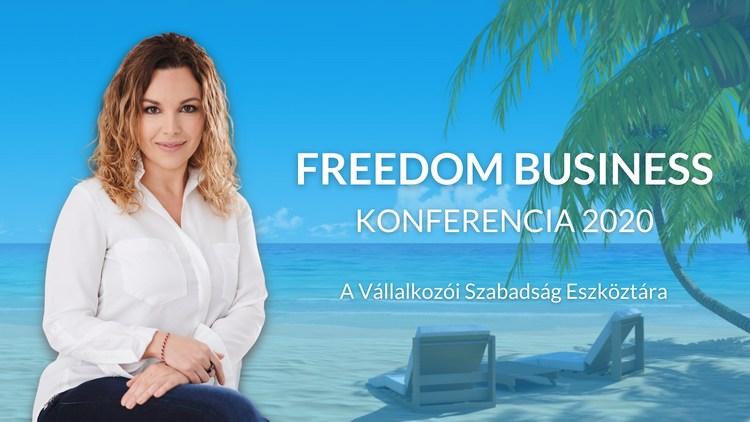 Freedom Business Konferencia 2020 - Forray Niki