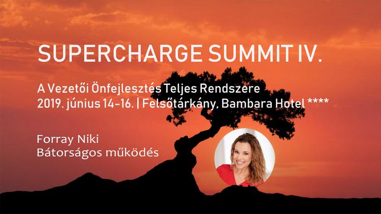 Supercharge summit - Bátorságos működés
