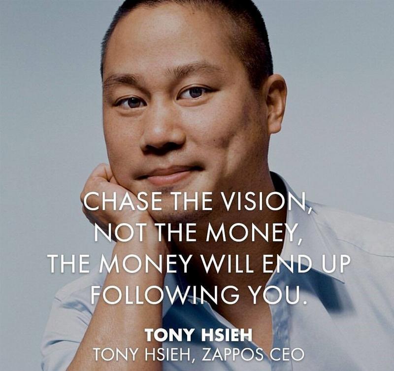 Tony Hsieh a Zappos alapítója